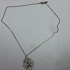Swarovski - New- Silver- 'Valora' Small Pendant Necklace (5019098) Retail $125