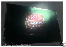 ABENAKI FLAG Decal Vinyl Sticker chrome or white vinyl and 15 sizes to pick!