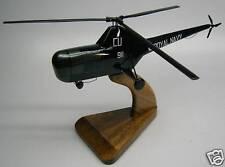 R-5 Sikorsky S-51 Helicopter Wood Desktop Model FreShip