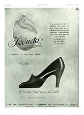 """Publicité Ancienne """" Chaussures de Luxe pour Dames Seducta  1931 """"  ( P 11 )"""