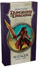 Dungeons & Dragons Divine Power Avenger Cards New