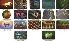 Hologramm-Aufkleber, Sicherheitssiegel, Garantiesiegel,Hologrammetiketten von EW