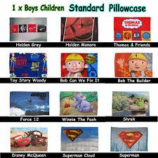 Choose Your Design - Boys Children Popular Character Standard Pillowcase 48x73cm