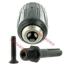 """SDS-Plus Adapter / Schnellspannbohrfutter 2-13 mm / Set 1/2""""x20 UNF Bohrfutter B"""