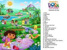 Dora the Explorer All Characters Beautiful Art Kids Giant Wall Print POSTER
