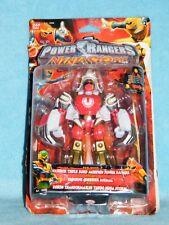 Power Rangers Ninja Storm Rojo Viento Guerrero triple morhin figura