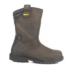 DeWalt Rigger 2 Safety Boots Rigger 2 Steel Toe Caps Midsole Mens Riggers Brown