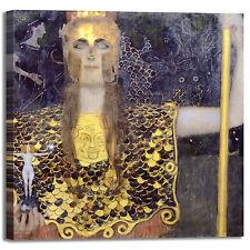 Gustav Klimt Pallade Atena design quadro stampa tela dipinto telaio arredo casa