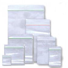 Druckverschluss Beutel Plastik ZIP Poly Beutel Tütchen Verschlussbeutel B3