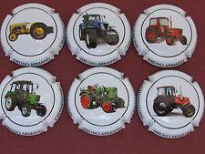 Série de 6 New capsule ARMAND Bruno tracteurs