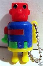 Vintage 1960 Gumball Machine Toy Robot Keychain Puzzle
