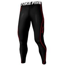 Take Five Mens Skin Tight Compression Base Layer Running Pants Leggings 197