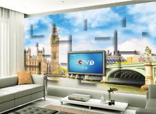 3D città Londra Parete Murale Foto Carta da parati immagine sfondo muro stampa