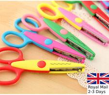 2/4 pairs Funky Scissor Set Zigzag/Wavy Blades Kids/Children Craft Paper Card