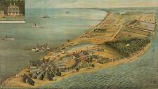 Point Lookout, MD 1864. Civil War Hospital & POW Camp; Lighthouse. Art Prints.