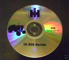 Sales DVD for Farmall 806 Tractor International IH 1960 NEW