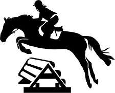 Pferd Springpferd Pferde Aufkleber Wandtattoo Sticker Heckscheibe Auto Spiegel