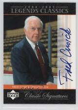 2004 Upper Deck Legends Classics Classic Signatures #CS53 Fred Cusick Auto Card