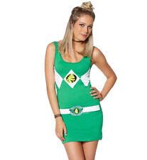 Green Power Ranger Costume Tunic Tank Dress