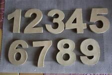 Restposten! Pappmache-Zahlen, ca. 10x1 cm, je 1,00 Euro
