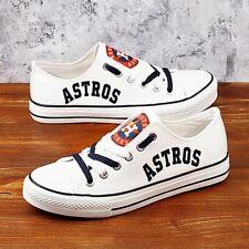 Houston Astros Shoes Unisex Baseball Shoes MLB shoes Houston Astros MLB sneakers