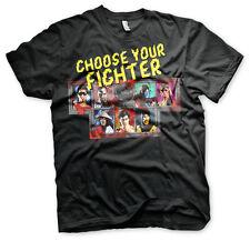 Mortal Kombat Choose Your Fighter Retro Arcade Game Männer Men T-Shirt Schwarz