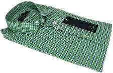 Camicia Uomo Maniche Lunghe Fred Perry Shirt Collo Italiano Super Slim Fit Long