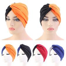 Inde Musulmane Élastique Femme Bonnet Hijab Capot Cheveux Perte Cache Chimio New