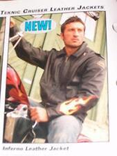 Teknic 'Inferno' 4XL Men's Leather Riding Jacket-$299