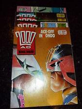 2000 AD Comic - 5 PROG JOB LOT - No's 611 - 615 (Dates 28/01/89 : 25/02/89 )