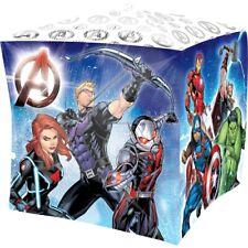 Marvel Avengers Cubes 38.1cm Film Ballon en aluminium fête THOR HULK IRON MAN