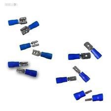 50 Capocorda / Connettore elettrico Blu, Spina o Presa, per cavo 1,5-2,5mm²