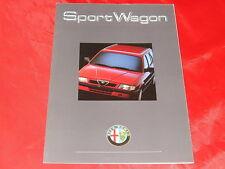 ALFA ROMEO 33 Sport Wagon 1.7 IE + Boxer 16V Prospekt von 1990