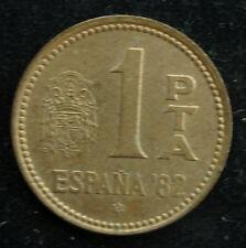 mm) Spanien 1 Peseta 1982 Espana - Juan Carlos I +++ Fußball WM´82 +++ España