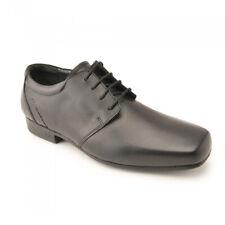 Start-rite Theo Boys Black School Shoe