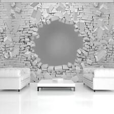 Fototapete Tapete Wandbild Vlies F420148_VE Photo Wallpaper Mural 3D Ziegelwand