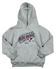 Reebok NHL Kids Colorado Avalanche Hockey Club Fleece Hoodie - Grey