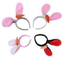 1X Girls Headband Cute Rabbit Ears Hairbands Little Girls Kids Hair Accessories