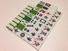 Full Size FujiGreen 2-Tone Tiles 1950s/60s MahJong for Joker/Fill In/Craft Lot#2