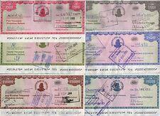 ZIMBABWE 1000 5000 10000 20000 50000 100000 15 16 17 18 19 20 2003 COMPLETE SET