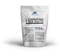 L-Carnitine 800mg plus HCA 200mg tablets Fat Burner & Fat Tissue Blocker
