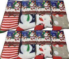 Christmas Socks for Girls Boys Cotton Blend Xmas Fashion Socks Santa themed