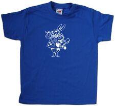 Alice In Wonderland Rabbit Kids Camiseta