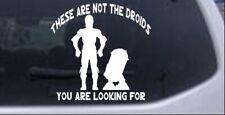 Star Wars Not The Droids C3PO R2 D2 Car Truck Window Laptop Decal Sticker