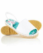 New Womens Maria Espadrille Sandals Optic