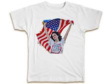 Lana Del Ray Bandiera Americana T-shirt-Cool Designer Uomini Donne Top Regalo Di Compleanno