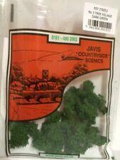 Javis tree and hedge foliage model railway OO N Gauge wargaming