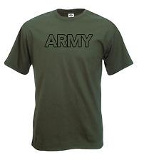 Ejercito, Militares, Fuerzas, Verde, diversión T Shirt.
