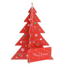 Carte de voeux 3D joyeux Noël cartes postales cartes de message
