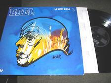 Jacques Brel Le plat pays 1 barclay lp nm w/article '62